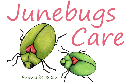 Junebugs Care Logo